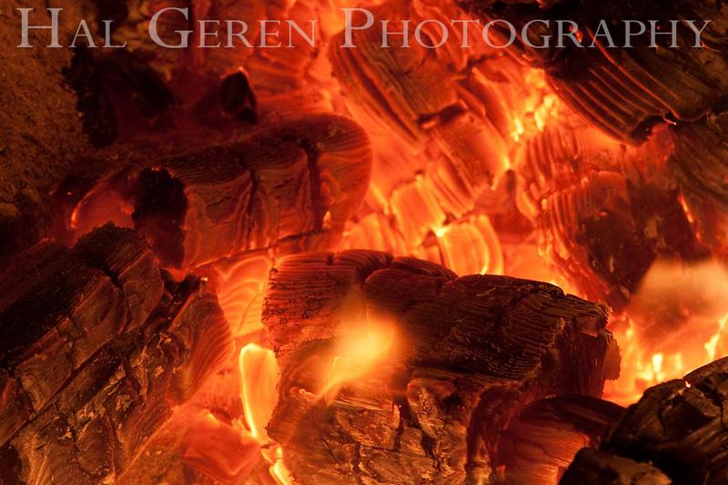 Campfire<br /> Big Basin State Park, California<br /> 0910BB-F10