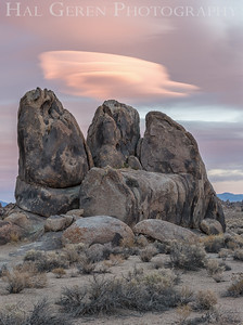 Lenticular Cloud Alabama Hills Lone Pine, California 1610S-B1