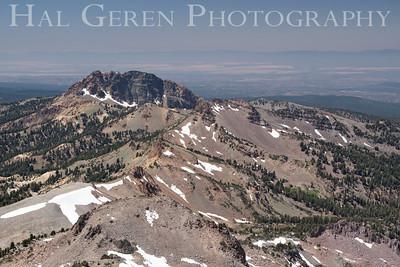 One of the two Mt Lassen calderas Lassen Volcanic National Park, California 0709ML-VM4