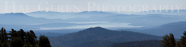 Distant Lake Lassen Volcanic National Park, California 0709ML-VLP1