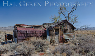Abandoned Cabin Eastern Sierra, California 1410S-SK1