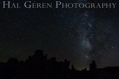 Milky Way and Tufa Mono Lake, California 1410S-MS5