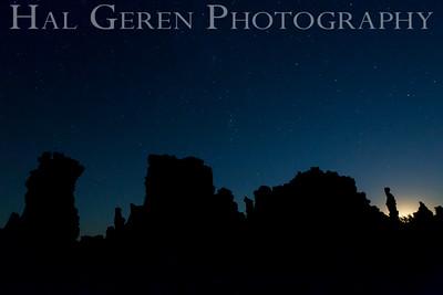 Milky Way and Tufa Mono Lake, California 1410S-MS2