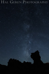 Milky Way and Tufa Mono Lake, California 1410S-MS1