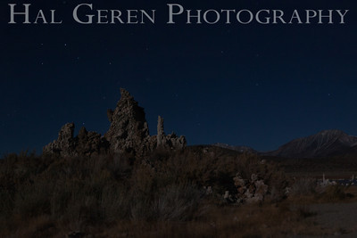 Tufa with the Little Dipper Mono Lake, Calfornia 1310S-MT3