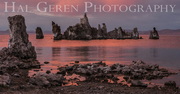 Tufa Sunset Mono Lake, California 1207-MT2