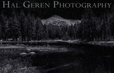 Starkweather Lake Tioga Pass, Yosemite, California 1207S-SL1BW2
