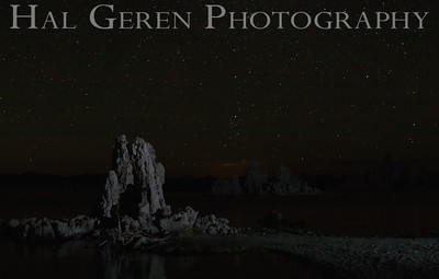 Milky Way over Tufa Mono Lake, California 1207S-S2