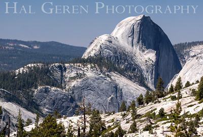 Half Dome from Olmstead Point Yosemite, California 1407S-HDFOP2