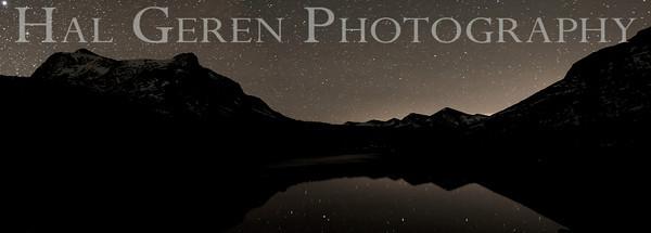 Stars over Tioga Lake Eastern Sierra, California 1110S-TLSP2
