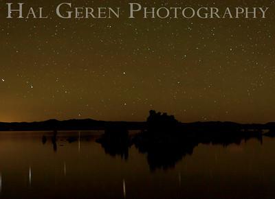 Stars over Mono Lake Tufa Eastern Sierra, California 1110S-MLS6
