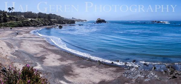 Van Damme Beach Mendocino Coast, California 1305M-VDBP2B