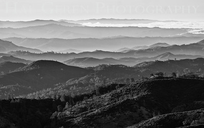 Eastern View Mt Hamilton, California 1308MH-V1BW2