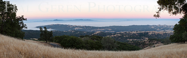 Valley Fog Mt Hamilton, California 1308MH-VP3