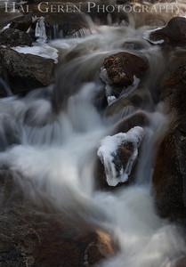 Bridal Veil Stream Yosemite, California 1204Y-BVS12