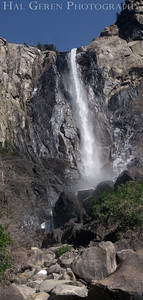Bridal Veil Falls Yosemite, California 1204Y-BVVP1