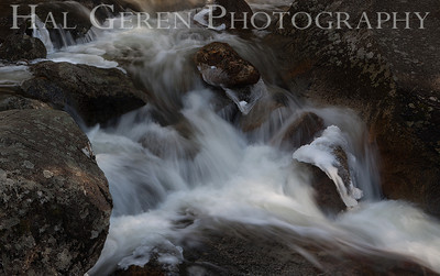 Bridal Veil Stream Yosemite, California 1204Y-BVS14E1