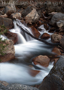 Bridal Veil Stream Yosemite, California 1204Y-BVS10
