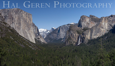 Tunnel View Yosemite, California 1204Y-TVP1