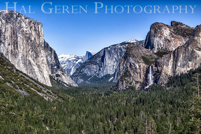 Tunnel View Yosemite, California 1204Y-TVH2-E