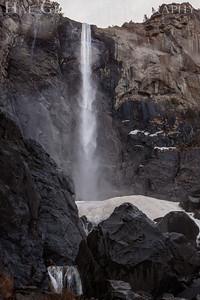 Bridal Veil Falls Yosemite, California 1302Y-BVF1