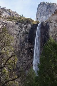 Bridal Veil Falls Yosemite, California 1302Y-BVF2