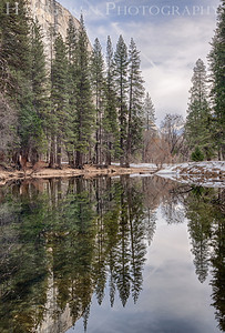 Merced river Yosemite, California 1302Y-MH3