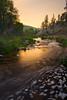 Sunset at Canyon Creek