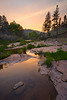 Canyon Creek Sunset