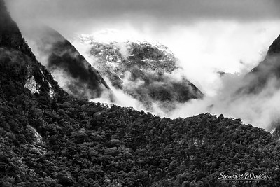 Milford Sound Mist and clouds