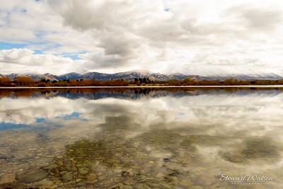 lake Opuha  pano