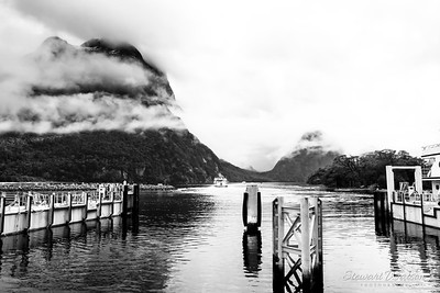 Milford Sound marina