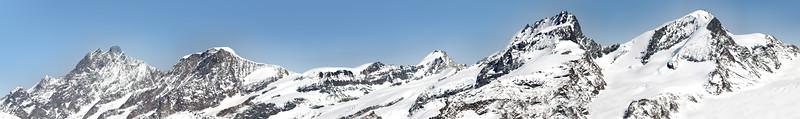 Mischabel range, Zermatt, Switzerland