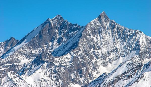 Dom and Tashhorn, Zermatt, Switzerland