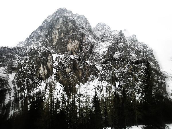 Sella Ronda ski tour, Dolomites, Italy