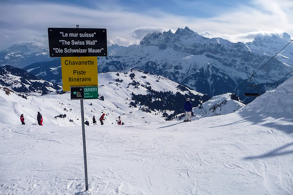 Pas de Chavanette, Champery, Switzerland