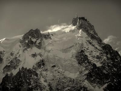 Aiguille du Midi, Mont Blanc range, France