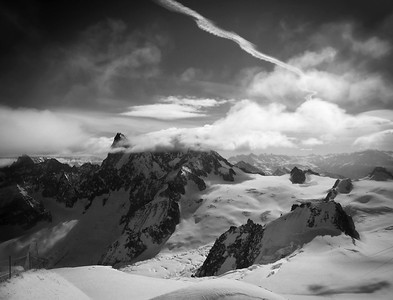 Vallée Blanche, Mont Blanc range, France