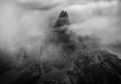 Dent du Géant, Mont Blanc range, France