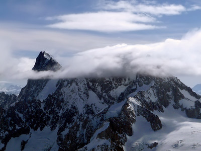 Grandes Jorasses, Mont Blanc range, France