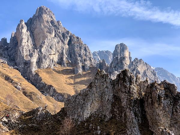 Sentiero delle Foppe, Grigna Meridionale, Italy