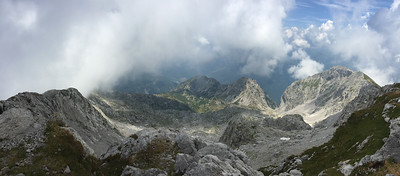 View from the summit of Grigna Settentrionale, Italy