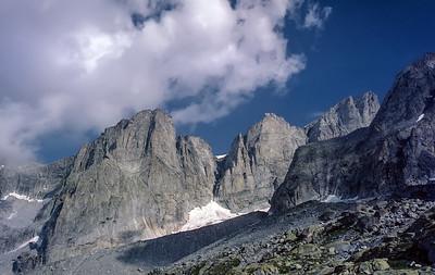 Punta Allievi, Central Alps, Italy