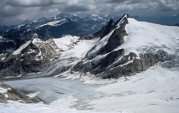 View from Cima di Castello summit, Italy