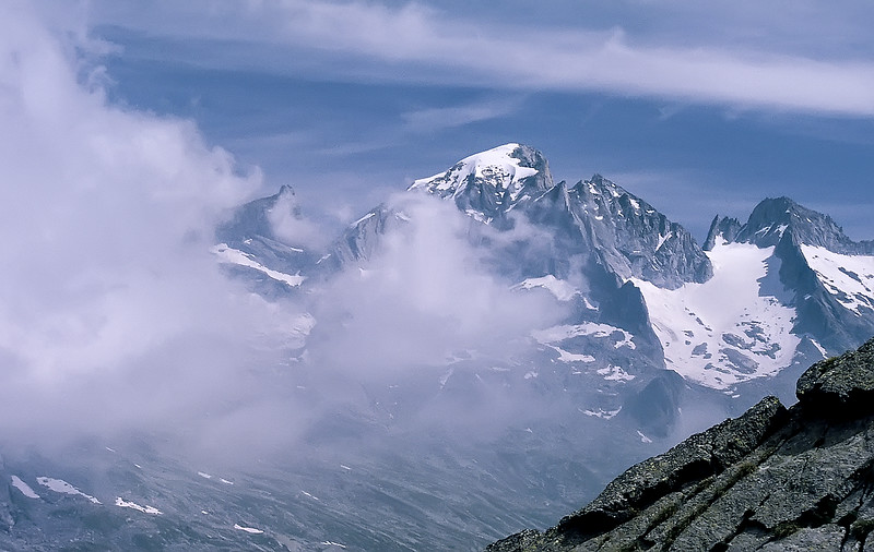 Piz Cengalo, Central Alps, Italy