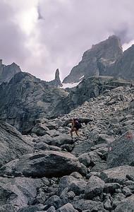 Sentiero Roma trek, Central Alps, Italy