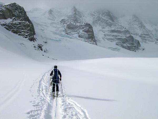 Ascent to Piz Palù, Switzerland