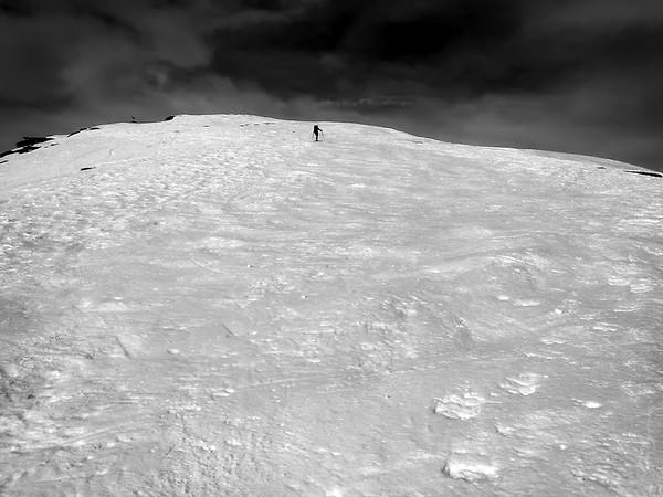 Ascent to Punta Cialma, Italy