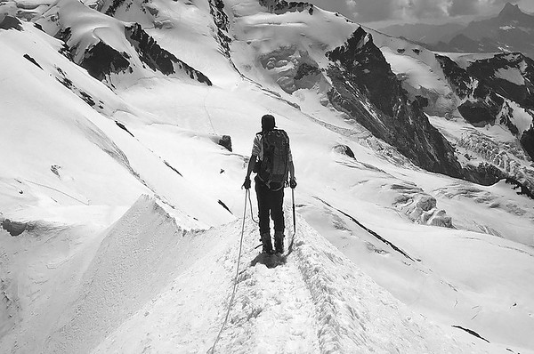1993: Western and Central Breithorn