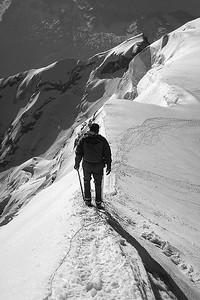 Zumstein ridge (4.563m), Monte Rosa